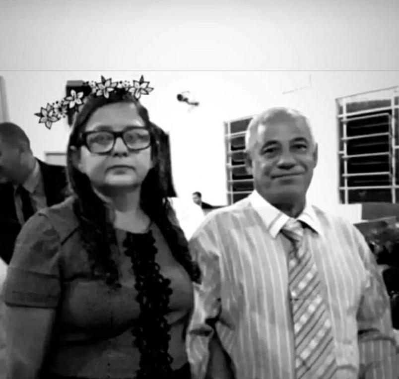 Aparecida Berenice Pereira Gonçalves e o esposo Alberany Gonçalves Filho (crédito de imagem: Divulgação)