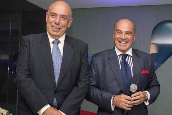 Donos da Rede TV,  Amilcare Dallevo e Marcelo Carvalho (Créditos: Portal Rede TV).