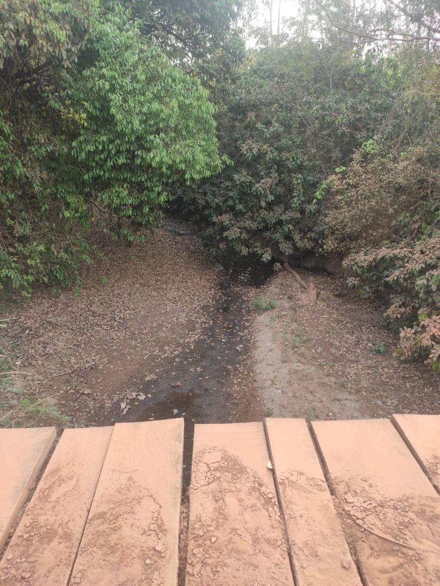 Imagem do Rio Araras de Cerejeiras que serve de captação de água da Caerd - Crédito de Imagem: Redes Sociais.