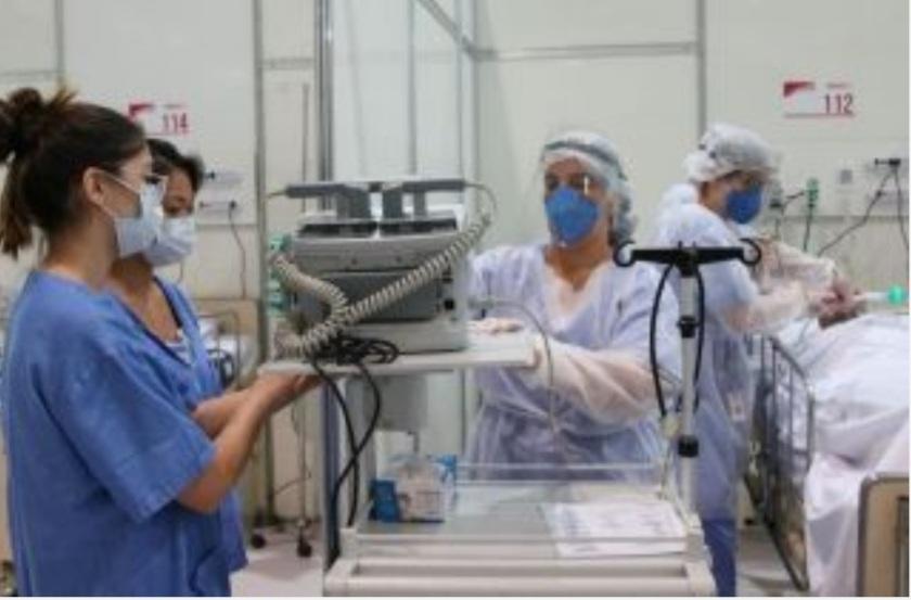 Atuação dos profissionais da Enfermagem durante a pandemia numa UTI em Porto Velho/HB.