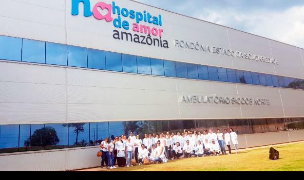 Hospital de amor da Amazônia - extensão Barretos, é modelo na região no combate e tratamento de portadores de câncer e tem salvado milhares de vidas. (crédito: hospital de amor da Amazônia - assessoria de comunicação).