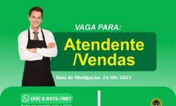 ATENDENTE/VENDAS
