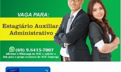 Auxiliar Administrativo (Estágio)