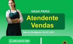 ATENDENTE DE VENDAS