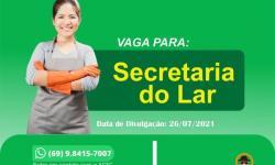 Secretária do Lar