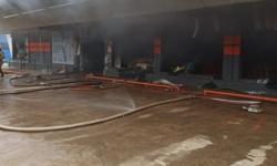 Supermercado é atingido por incêndio em Rondônia