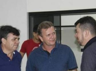 Luizinho Goebel destina recursos para melhorias do quartel da Polícia Militar de Cabixi