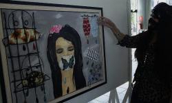 Artista de Rondônia retrata pandemia em forma de artes