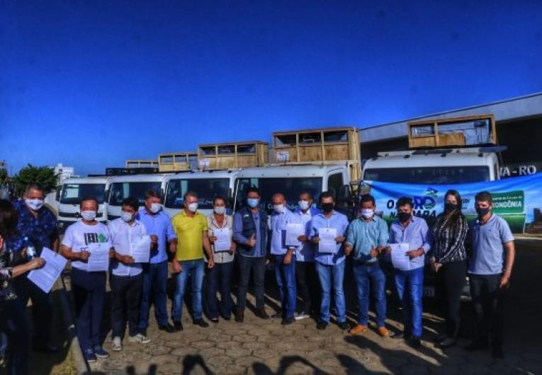 Governo de Rondônia entrega equipamentos para a agricultura familiar no Cone Sul, em parceria com o Governo Federal