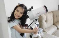 Conheça Nicolinha, a astrônoma de 8 anos que já achou 7 asteroides
