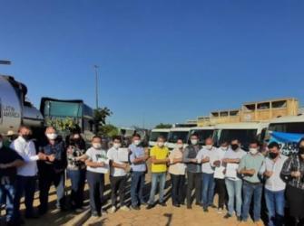 Luizinho Goebel participa de solenidade de entrega de usina de asfalto e contêineres para coleta seletiva de lixo em Vilhena