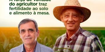 Deputado Chiquinho da Emater Parabeniza o Agricultor neste dia 28 de julho