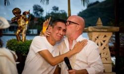 Arquiteto troca de noivo na véspera do casamento e surpreende os convidados: 'Foi 10 vezes melhor'
