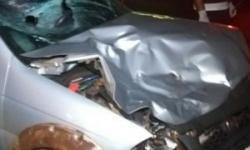 Mulher e filho são socorridos ao hospital após bater veículo na área rural de Cerejeiras