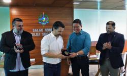 Governo de Rondônia recebe visita do ministro do Meio Ambiente
