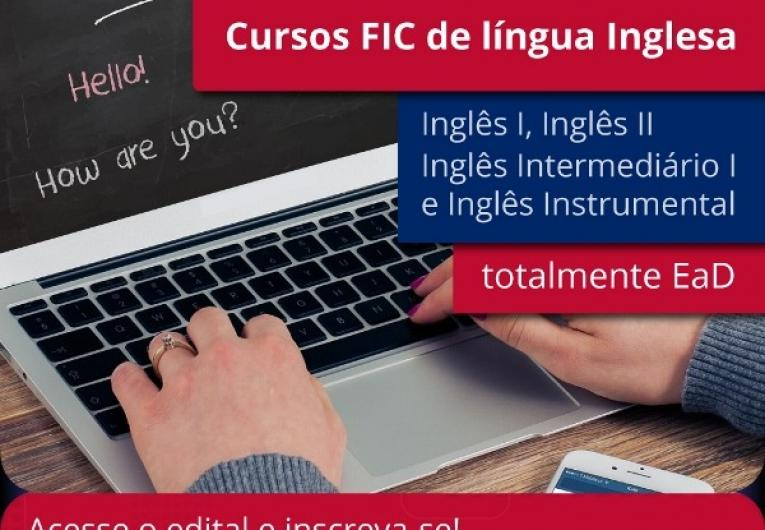 IFRO Zona Norte oferta cursos de formação continuada de Inglês gratuitamente