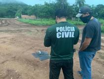 Foragido da Justiça, jovem suspeito de planejar a morte de policial é preso com ajuda de drone