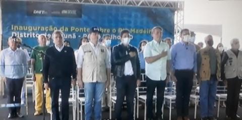 PONTE DA LIBERDADE: Bolsonaro inaugurou em Rondônia Ponte do Abunã que integra o estado do Acre ao país e ao Pacífico
