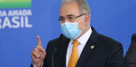 Queiroga anuncia compra de mais 100 milhões de vacinas da Pfizer