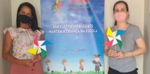CEREJEIRAS: CREAS e CRAS realizam ação em alusão ao Dia Mundial de Combate ao trabalho infantil