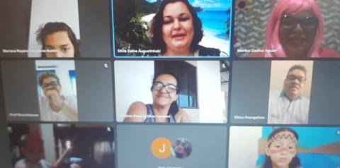Professoras da rede municipal de ensino realizam Gincana Virtual com seus alunos em Cerejeiras