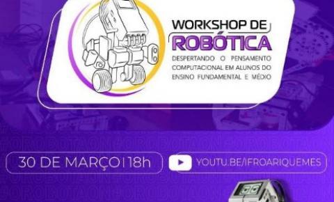 ARIQUEMES: IFRO realiza workshop de Robótica com Lego para estudantes do ensino fundamental