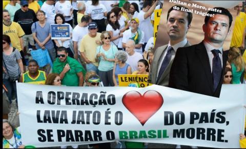 OPINIÃO DE PRIMEIRA: Os Brasileiros decentes, que querem um país livre da corrupção, convidam para o enterro da Lava Jato!