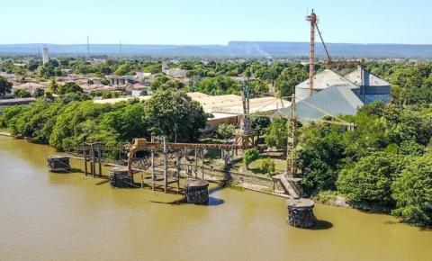 Justiça derruba liminar que impedia obras no Porto de Cáceres (MT)