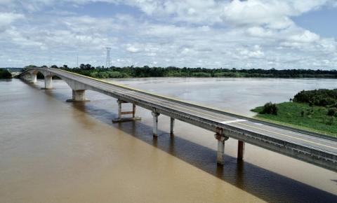 Ponte que liga AC e RO deve reduzir preço do transporte de mercadorias e aposentar balsa