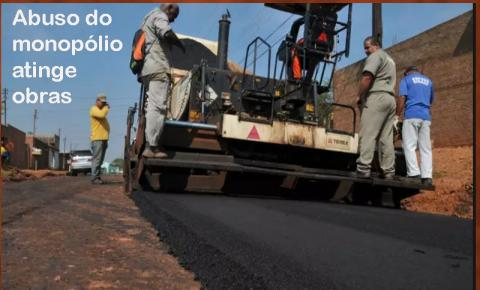 OPINIÃO DE PRIMEIRA: Dona do monopólio, Petrobras anuncia preço abusivo do asfalto e pode paralisar milhares de obras