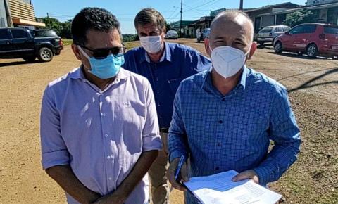 COLORADO DO OESTE: Deputado Ezequiel Neiva lança obras de asfaltamento no município