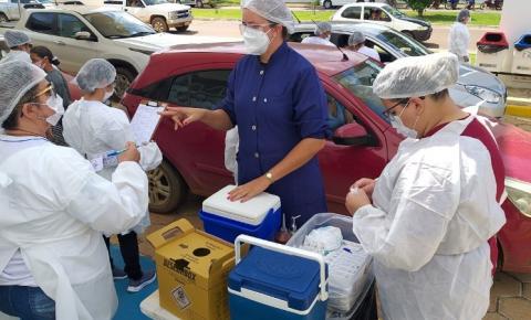 VILHENA: Vacinação de segunda dose da Coronavac deve continuar a partir de quarta-feira