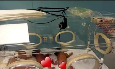Mulher malinense dá luz a nove filhos via cesariana