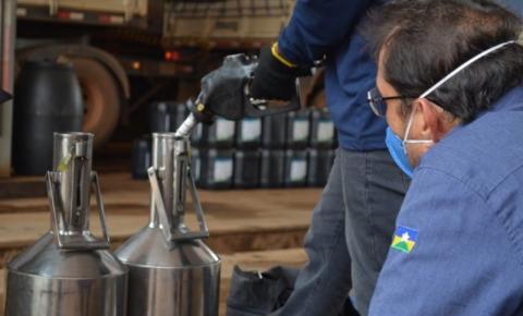 VILHENA: IPEM realiza fiscalização em bombas de combustíveis no município