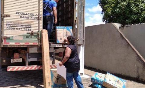 CEREJEIRAS: Seduc destina equipamentos para atender escolas do município e região