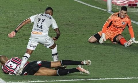 Santos vence São Paulo por 2 a 0 no reencontro de Diniz com ex-time