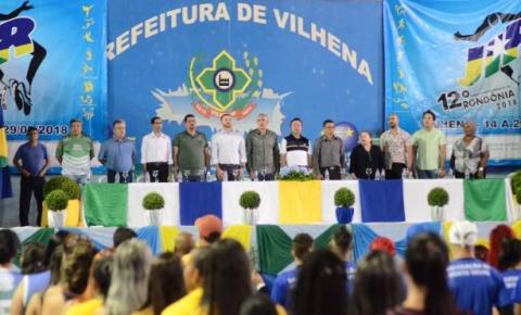 Vilhena será sede dos Jogos Intermunicipais de Rondônia pela terceira vez
