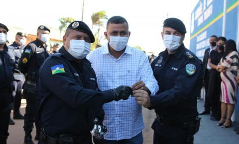 CANDEIAS DO JAMARI: Prefeitura inaugura nova sede da Polícia Militar