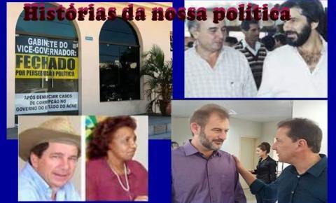 OPINIÃO DE PRIMEIRA: Quando os vices rompem: crise no acre é filme que já vimos em Rondônia e no país