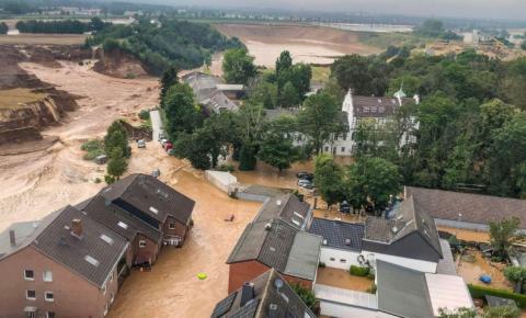 Mais de mil estão desaparecidos após inundações na Europa Ocidental