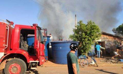 Gerente agradece ao Corpo de Bombeiros, funcionários e população pelo empenho no combate a incêndio da Diságua de Cerejeiras