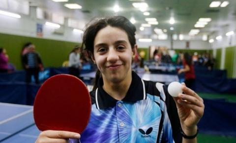 Mesatenista síria de 12 anos é a mais jovem atleta de Tóquio 2020