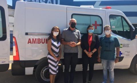 ALTO PARAISO: Confúcio Moura destina recursos para aquisição de nova ambulância