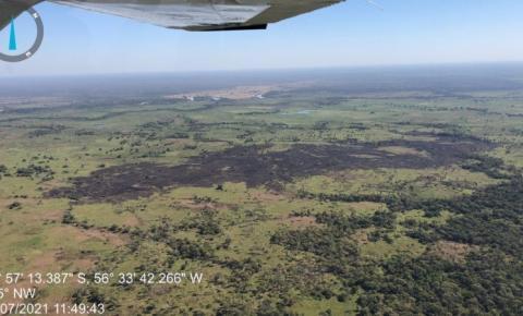 Incêndio em Terra Indígena é controlado pelos bombeiros
