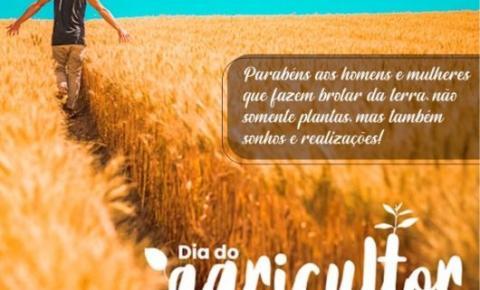 Viva o Agricultor, uma missão que vai além de plantar e colher. Dia 28 de julho é o Dia do Agricultor!