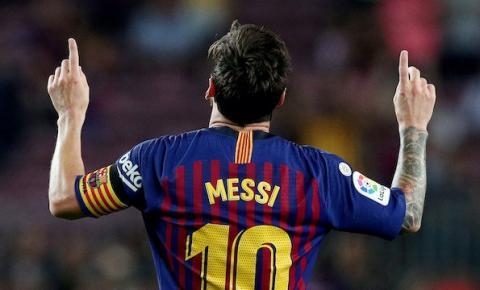 Messi se despede do Barcelona
