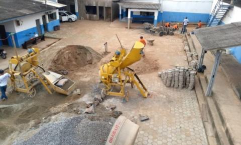 Centro de Ressocialização Cone Sul terá fábrica de bloquetes