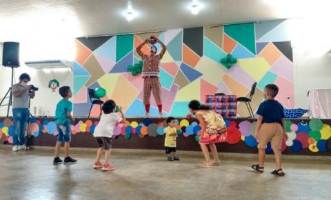 VILHENA: SEAS participa de encontro com crianças do programa Criança Feliz