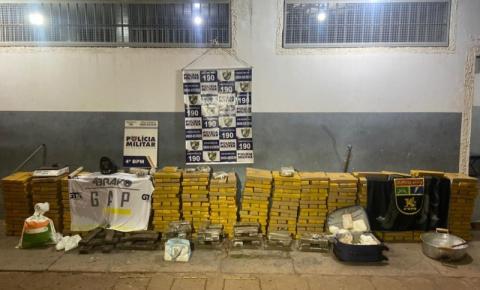 Polícia apreende uma tonelada de maconha em depósito