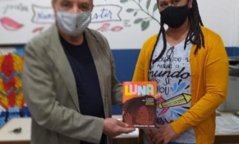 PORTO VELHO: Presidente da Câmara Brasileira de Cultura visita escola referência